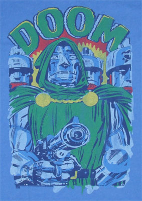 Doctor Doom - Junk Food Men's T-shirt