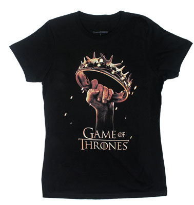 Crown Fist - Game Of Thrones Sheer Women's T-shirt