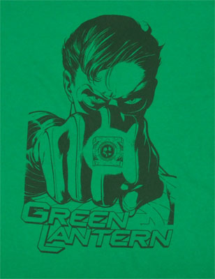 Taking Aim - The Green Lantern T-shirt