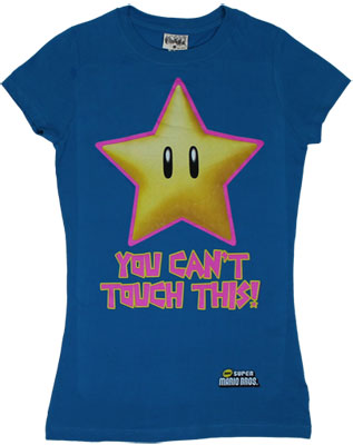 You Can't Touch This - Nintendo Sheer Women's T-shirt