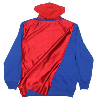 Superman Costume - DC Comics Youth Hooded Sweatshirt