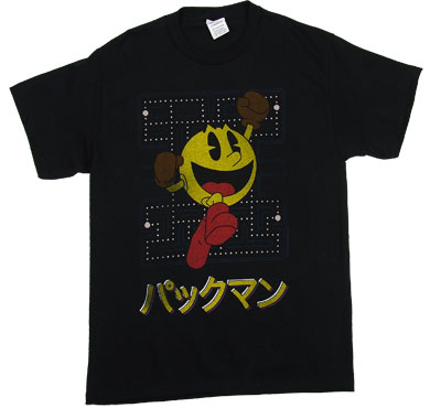 Pac-Man Japanese - Pac-Man T-shirt