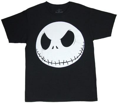 Jack Head - Nightmare Before Christmas T-shirt