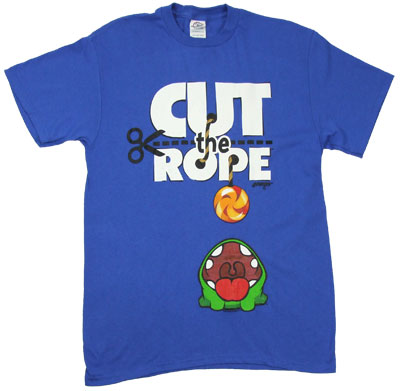 Open Wide - Cut The Rope T-shirt