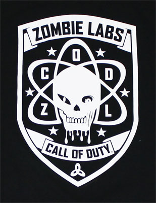 Zombie Labs - Call Of Duty Black Ops T-shirt