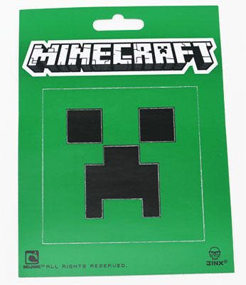 Creeper Face - Minecraft Sticker