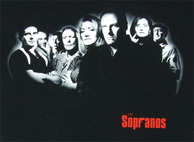 The Cast - The Sopranos T-shirt
