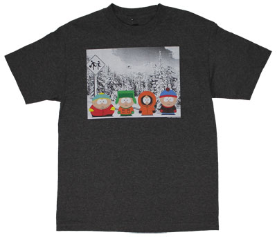 Bust Stop - South Park T-shirt