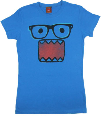 Glasses - Domo-Kun Sheer Women's T-shirt