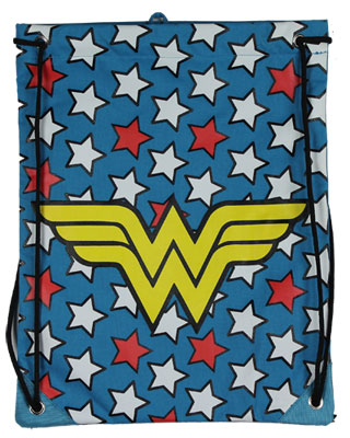 Wonder Woman Logo - DC Comics Cinch Bag