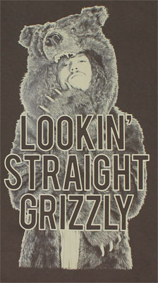 Straight Grizzly - Workaholics T-shirt