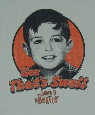 Gee That's Swell - Leave It To Beaver T-shirt