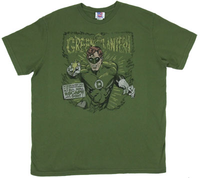 Green Lantern - Junk Food Men&#039;s T-shirt