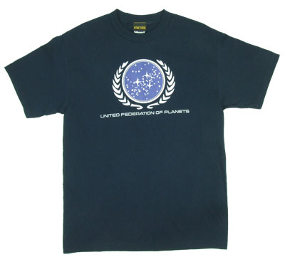 United Federation Of Planets - Star Trek T-shirt