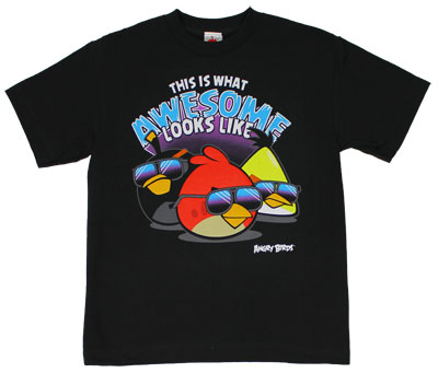 This Is What Awesome Looks Like - Angry Birds Youth T-shirt