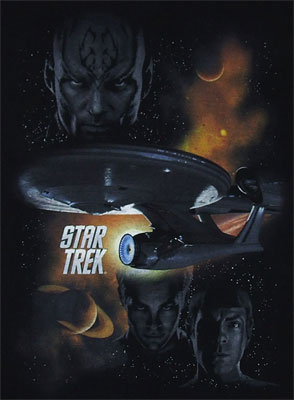 Galactic Struggle - Star Trek Movie T-shirt