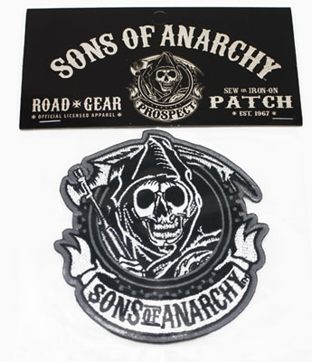 Reaper Circle - Sons Of Anarchy Patch