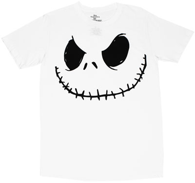 Smilin Jack - Nightmare Before Christmas Sheer T-shirt