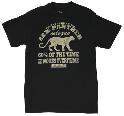 Sex Panther Cologne - Anchorman T-shirt