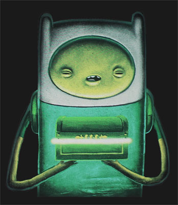 Creepy Finn - Adventure Time T-shirt