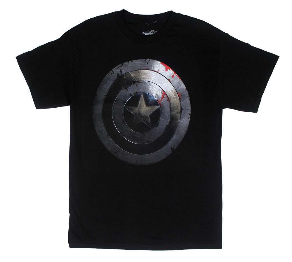 Beaten Shield - Captain America T-shirt
