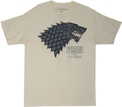 Stark Direwolf - Game Of Thrones T-shirt