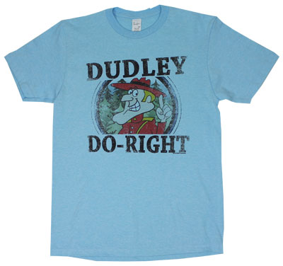 Dudley Do-Right - Rocky And Bullwinkle Sheer T-shirt