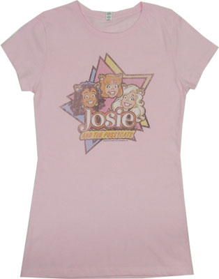 Stars - Josie And The Pussycats Sheer Women's T-shirt