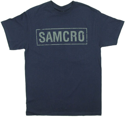 Samcro Cracked - Sons Of Anarchy T-shirt