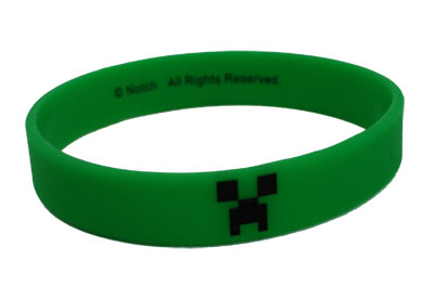 Creeper - Minecraft Rubber Wristband