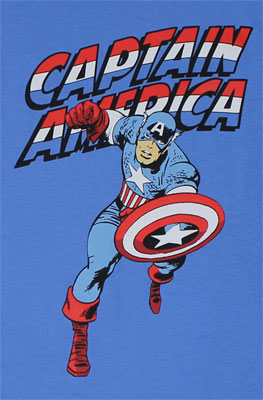 Red White And Blue - Marvel Comics T-shirt