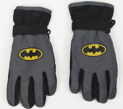 Batman Logo - DC Comics Youth Ski Gloves