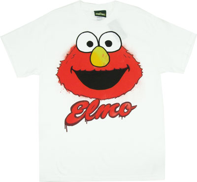 Painted Elmo - Sesame Street T-shirt