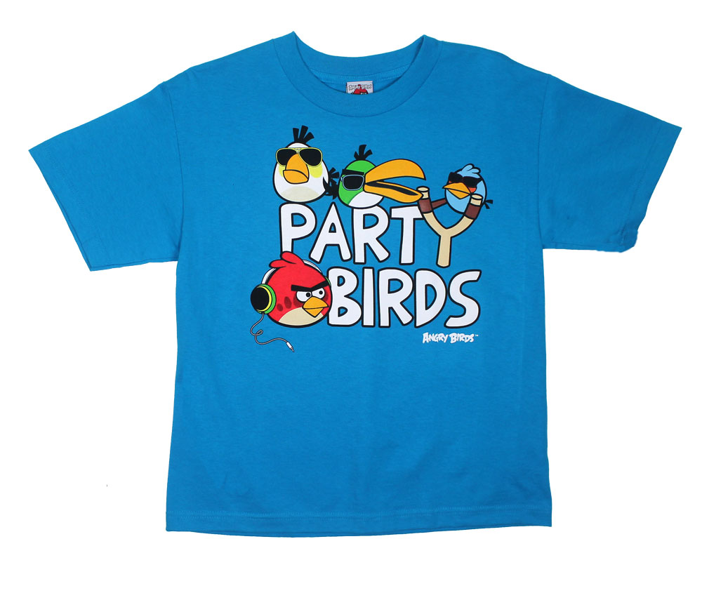 Party Birds - Angry Birds Youth T-shirt