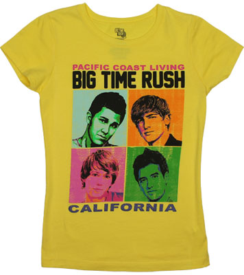 Pacific Coast Living - Big Time Rush Girls T-shirt