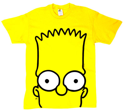 Bart Big Head - Simpsons T-shirt