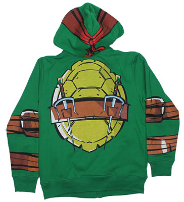 Raphael Costume - Teenage Mutant Ninja Turtles Youth Hooded Sweatshirt