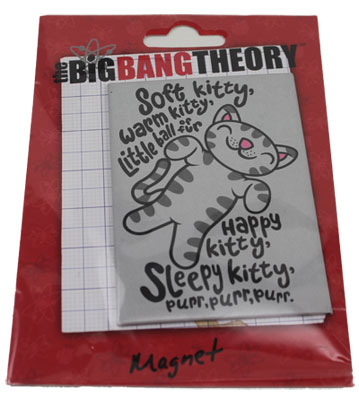 Soft Kitty - Big Bang Theory Magnet
