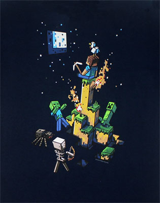 Tight Spot - Minecraft T-shirt