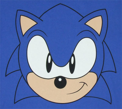 Sonic Face - Sonic The Hedgehog T-shirt