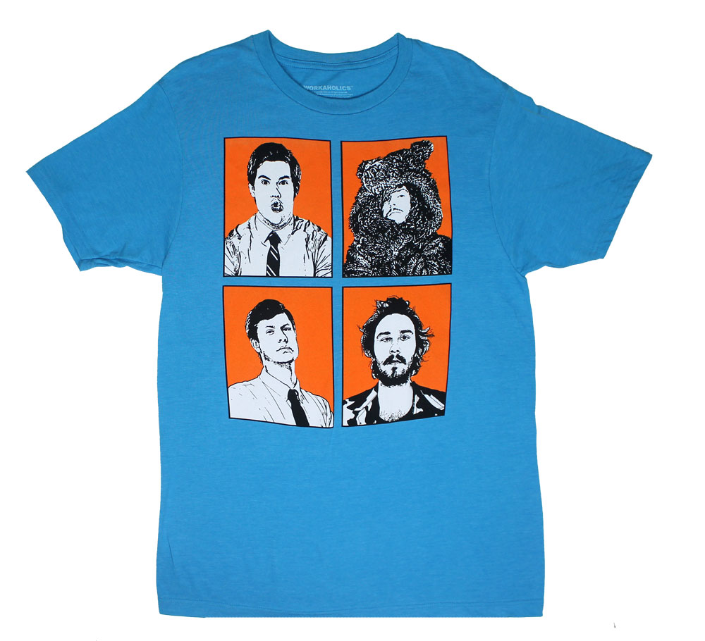 Four Faces - Workaholics T-shirt