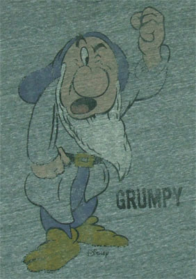 Grumpy - Junk Food Men's T-shirt