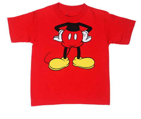 Mickey Body - Disney Toddler T-shirt