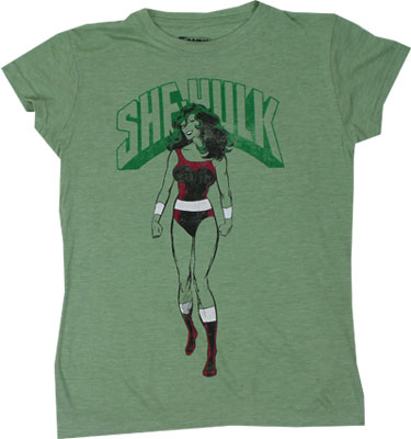 She-Hulk - Marvel Comics Sheer Women's T-shirt