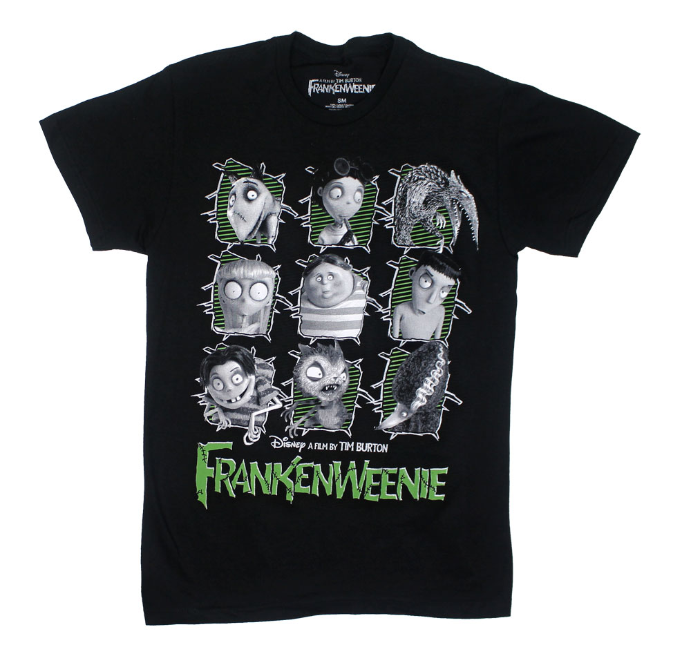 The Cast - Frankenweenie T-shirt