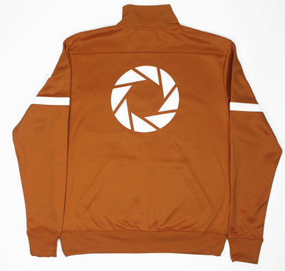 Aperture Test Subject - Portal Track Jacket