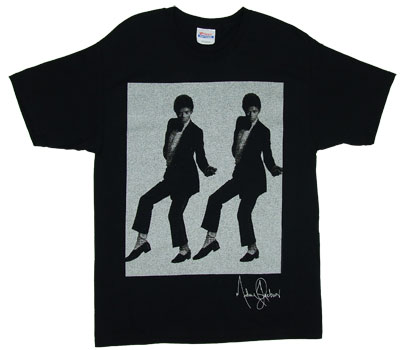 Two Michaels - Michael Jackson T-shirt