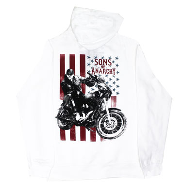 Jax Flag - Sons Of Anarchy Women's Hooded Sweatshirt