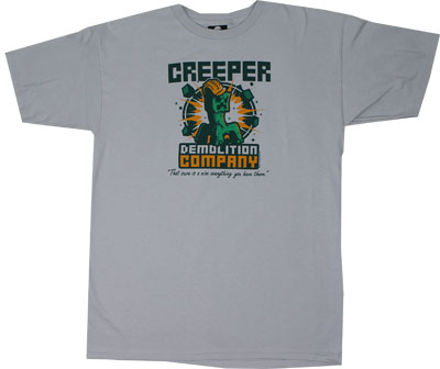 Creeper Demolition Company - Minecraft T-shirt