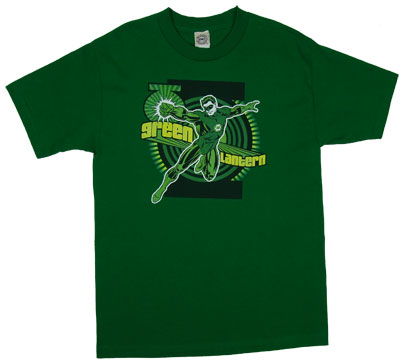 Green Lantern Punch - DC Comics T-shirt